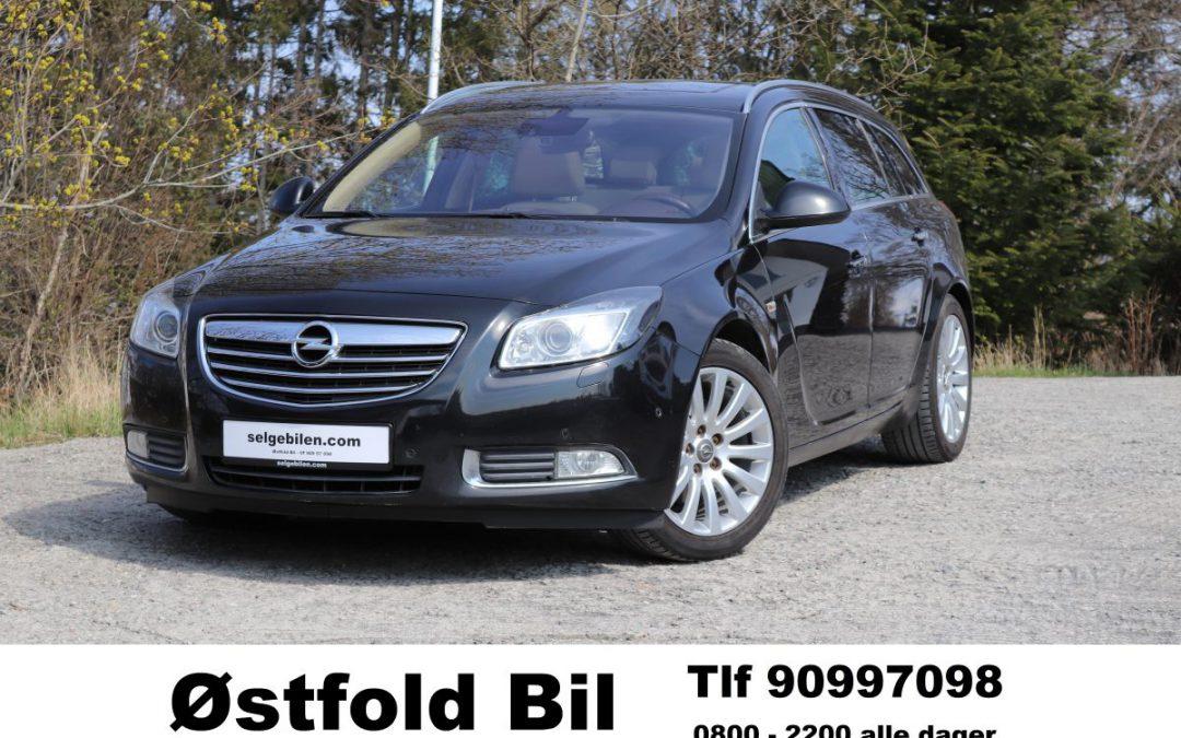 2011 Opel Insignia 2,0 TD 131 hk, 170000 km, Kr 69.900,- inkl reg